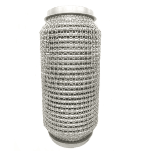High quality Knitted mesh braid Pipe for exhaust system