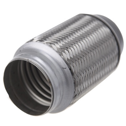 diesel exhaust flexible muffler pipe with inner braid auto parts