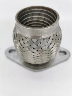 50*95 Flexible exhaust Pipe with rhombic flange
