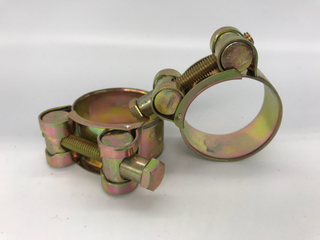 Color zinc clamp